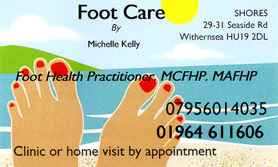Foot Care by Michelle Kelly