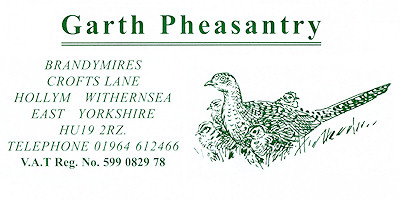 Garth Pheasantry