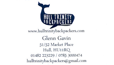 Hull Trinity Backpackers