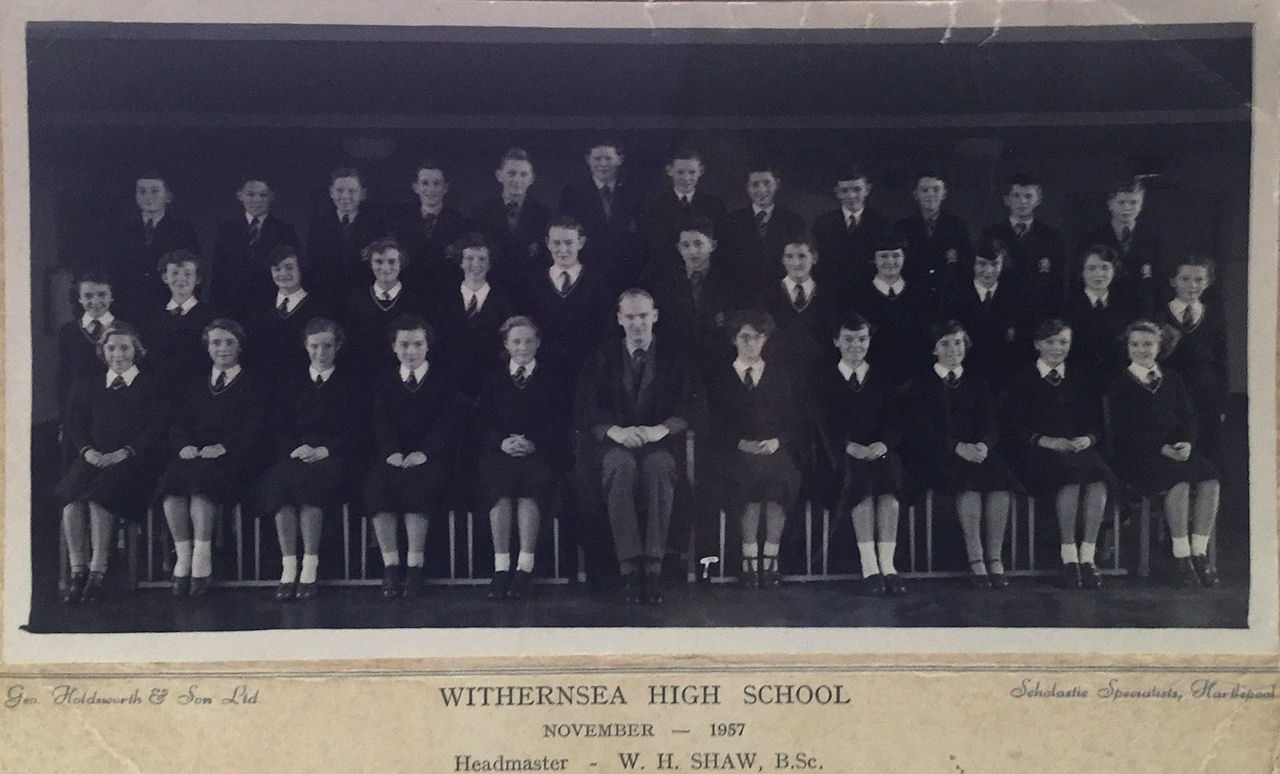 Withernsea High School 1957
