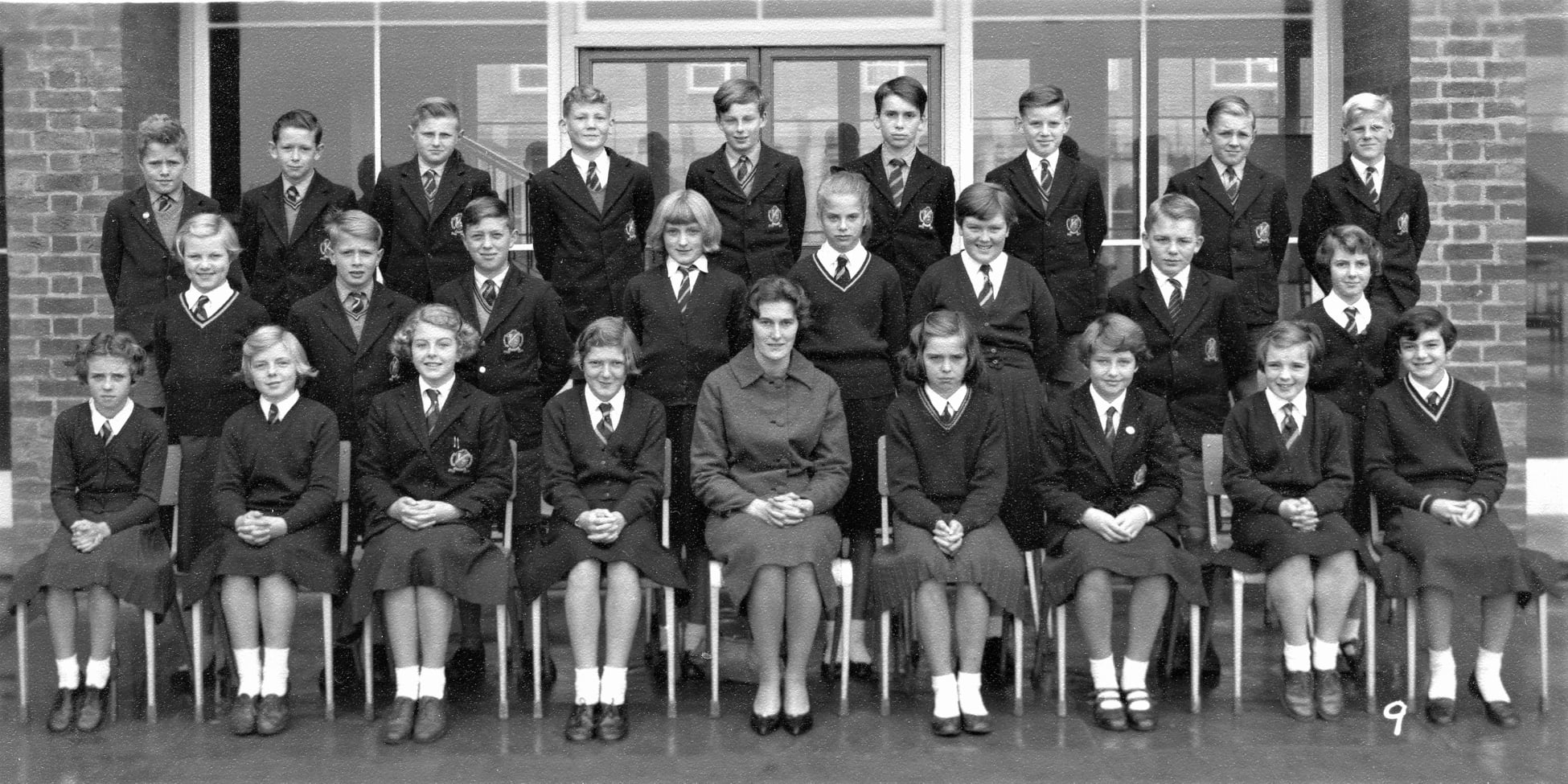 Withernsea High School 1960 class 1A