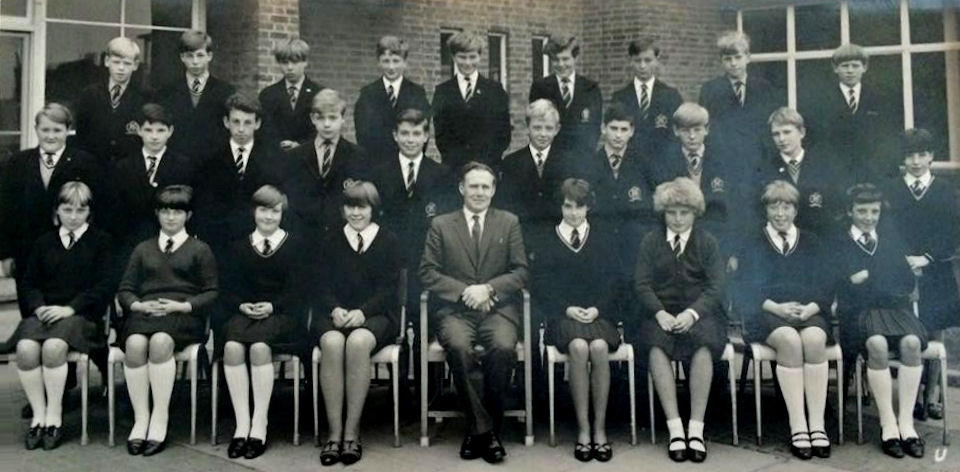 Withernsea High School Class Photo 1967