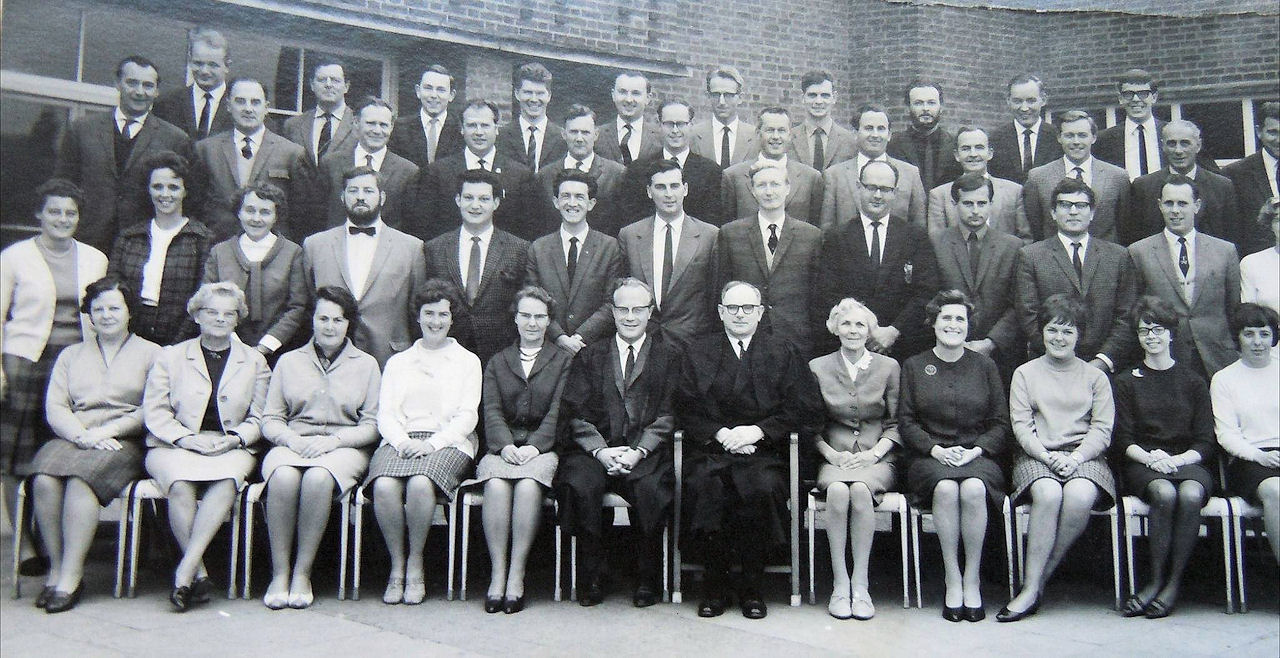 Withnersea High School Staff 1967