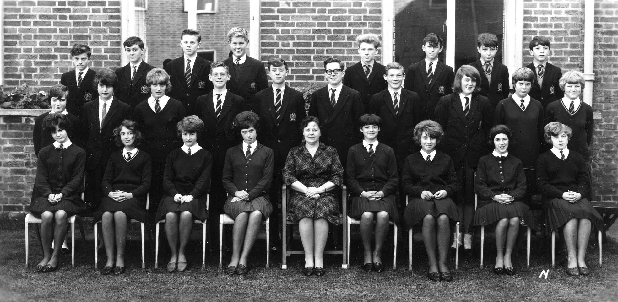 Withernsea High School 1968