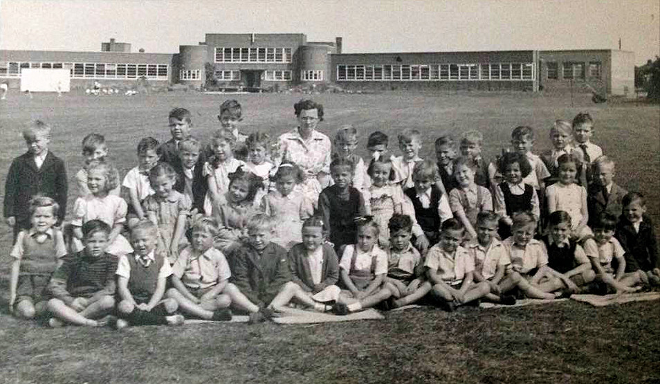Withernsea Junior School 1951
