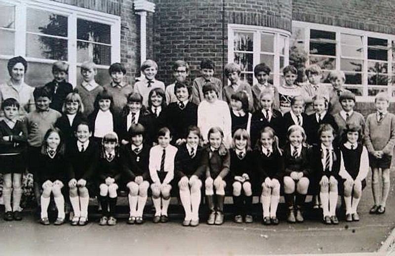 Withernsea Junior School 1968