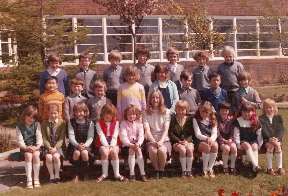 Withernsea Junior School Group photo 1973