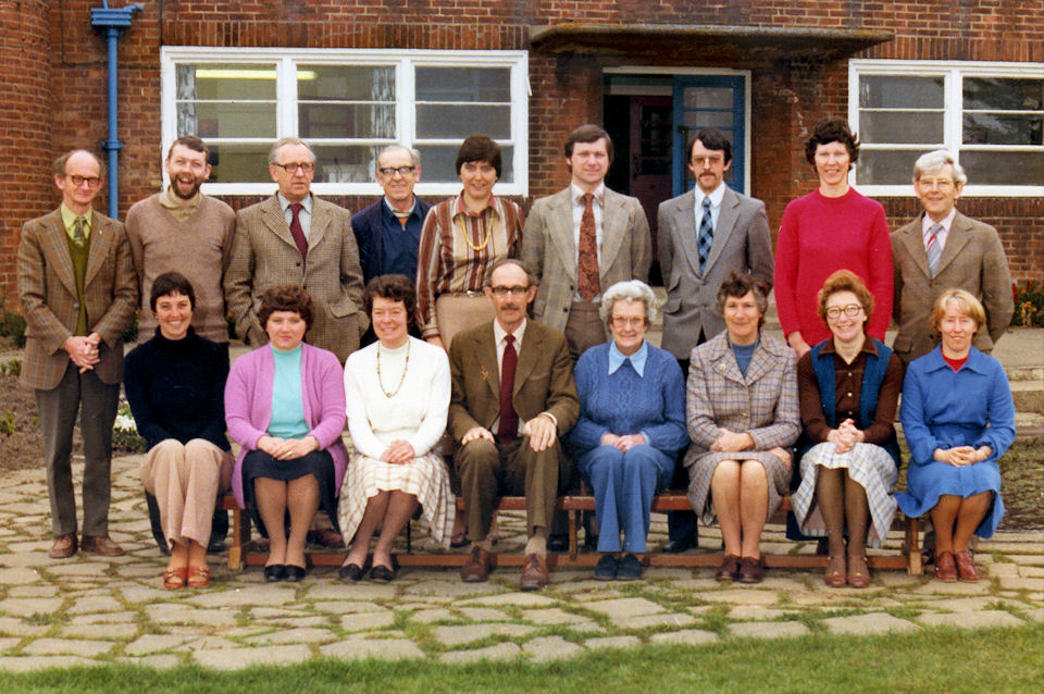 Withernsea Junior School Staff 1979/80