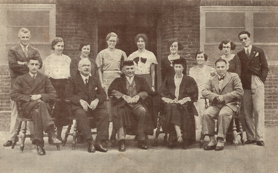 Junior School Staff 1934