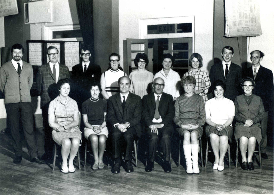1971 Junior School Staff