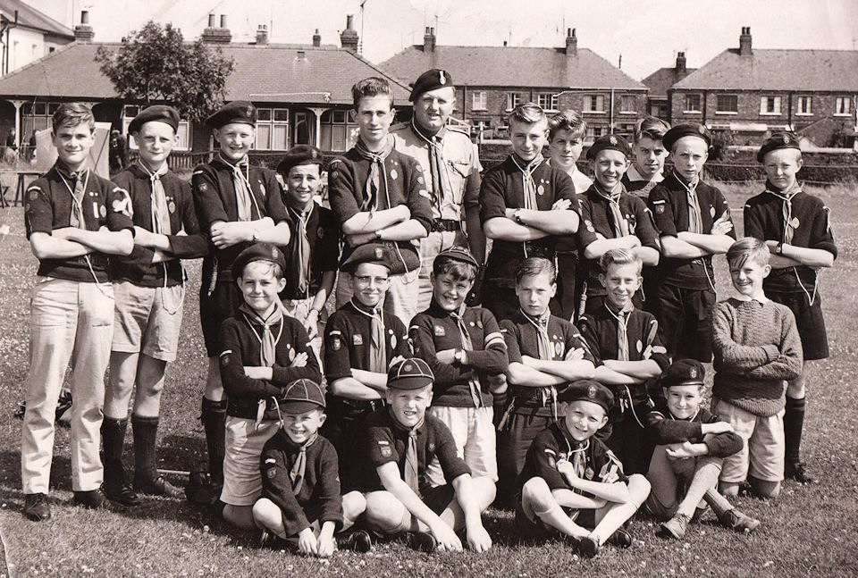 Withernsea Scouts 1961