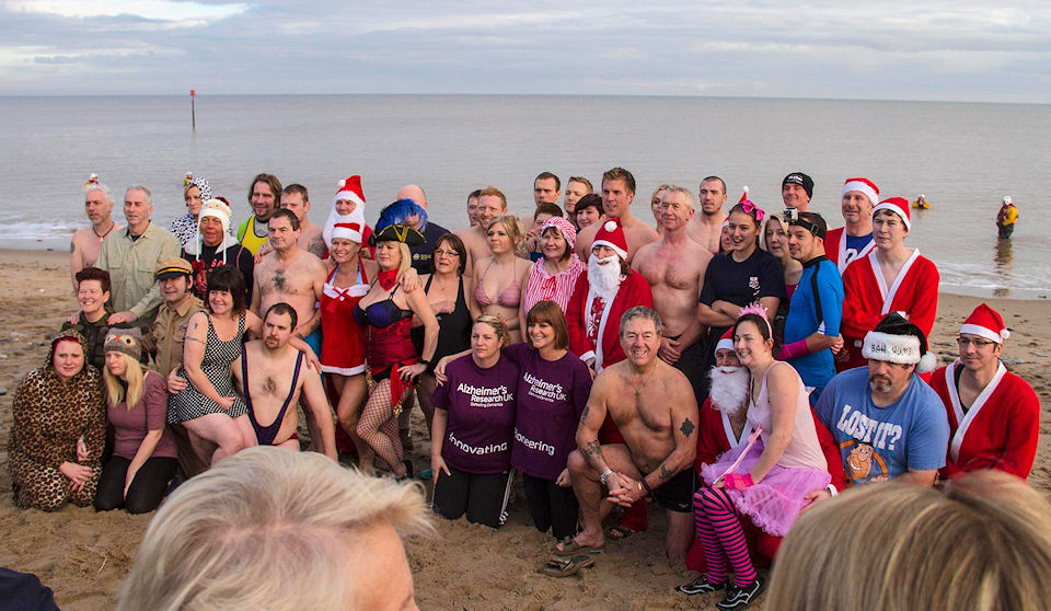Withernsea Boxing Day Dip 2013