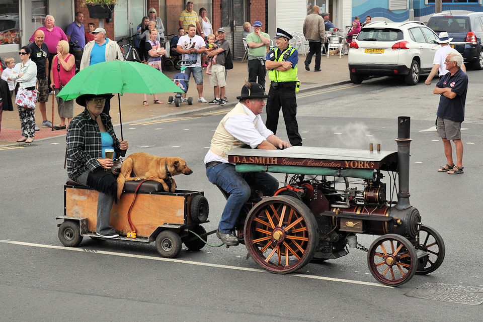 Withernsea Carnival and Steam Parade 2014