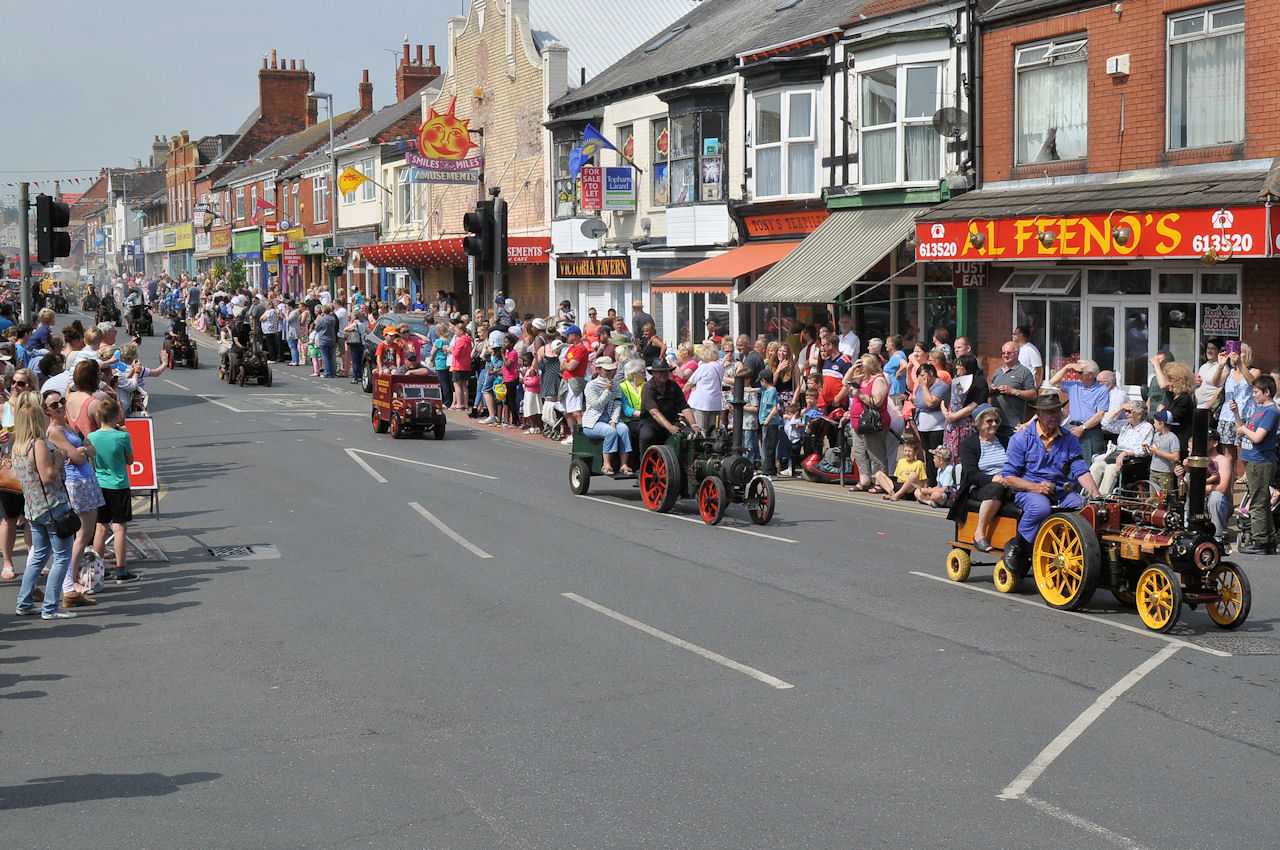 Withernsea Steam Parade 2016