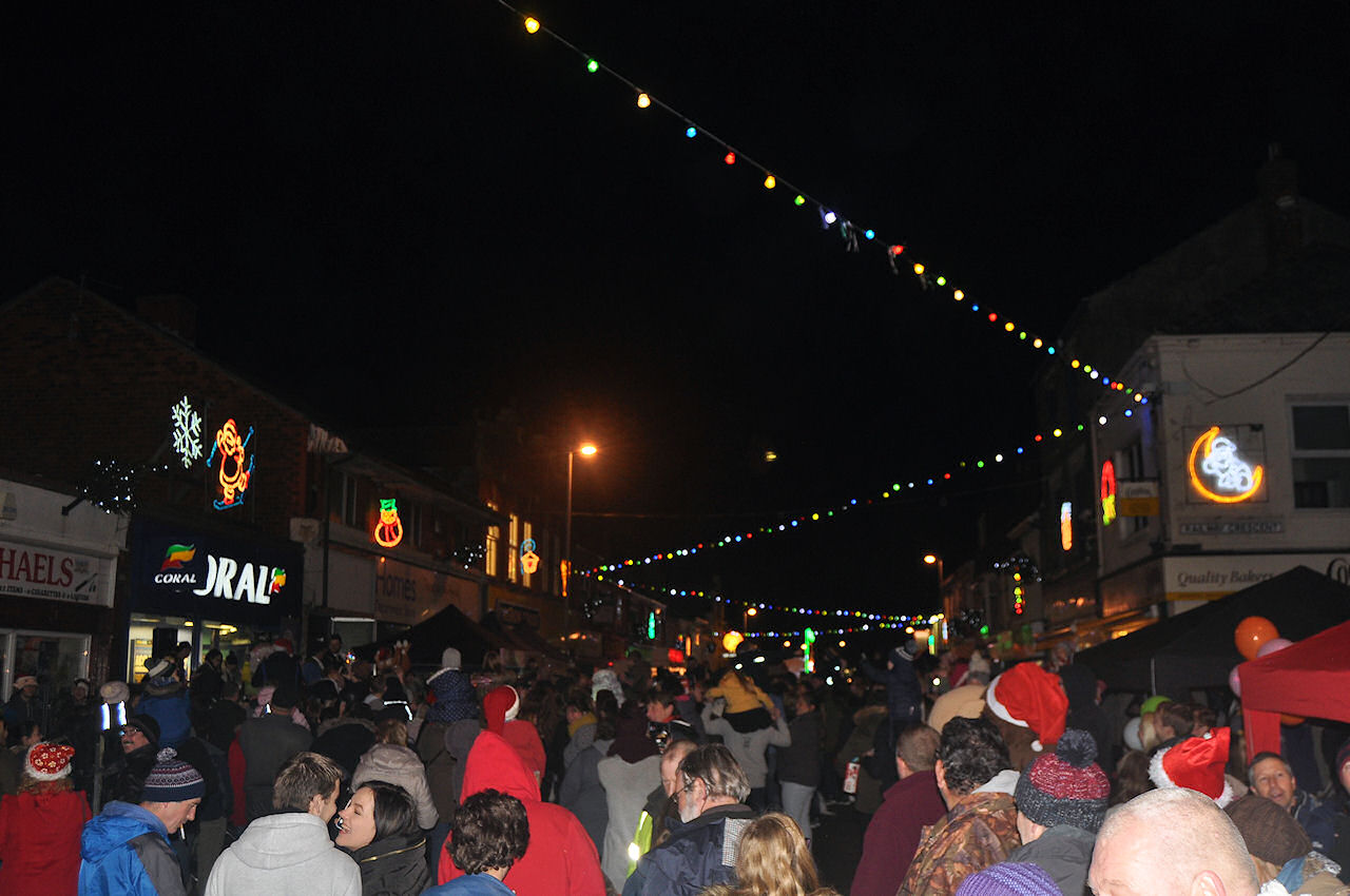 Withernsea Christmas Lights Switch On 2016