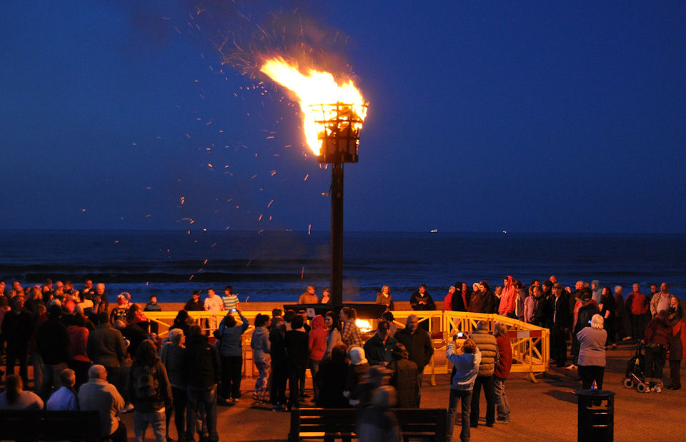 Lighting of Withernsea Beacon