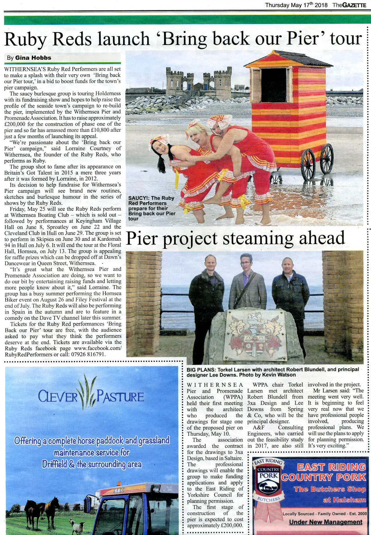 PressCoverage2018-05-17 Gazette