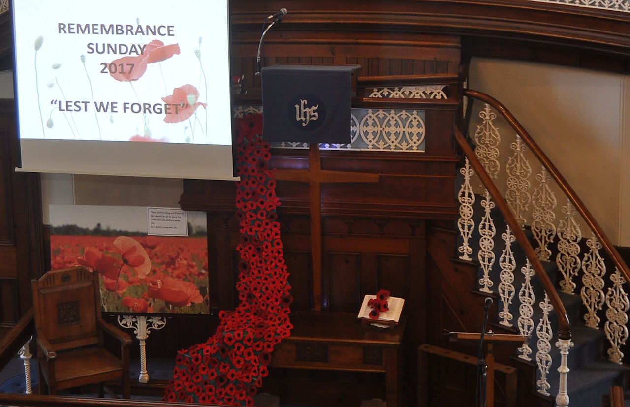 Remembrance Day 2017 Methodist Church