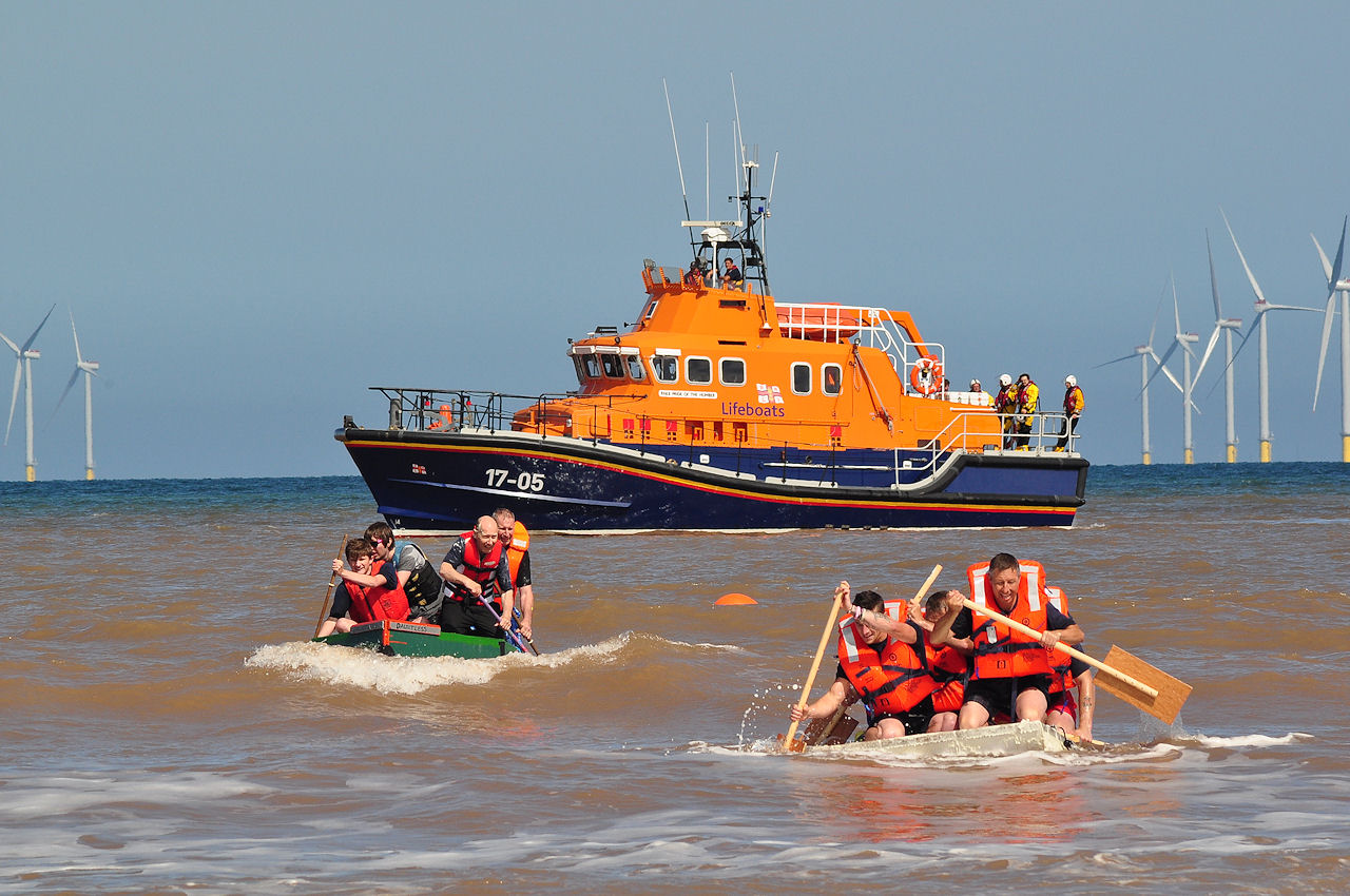 Withernsea Raft Race 2015