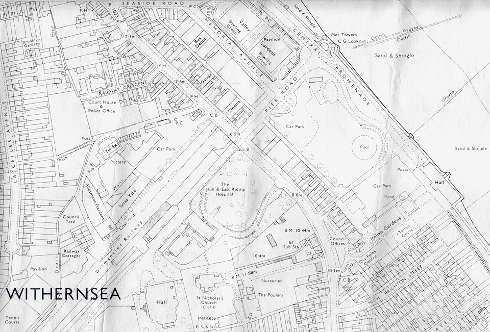 Withernsea Map 1972