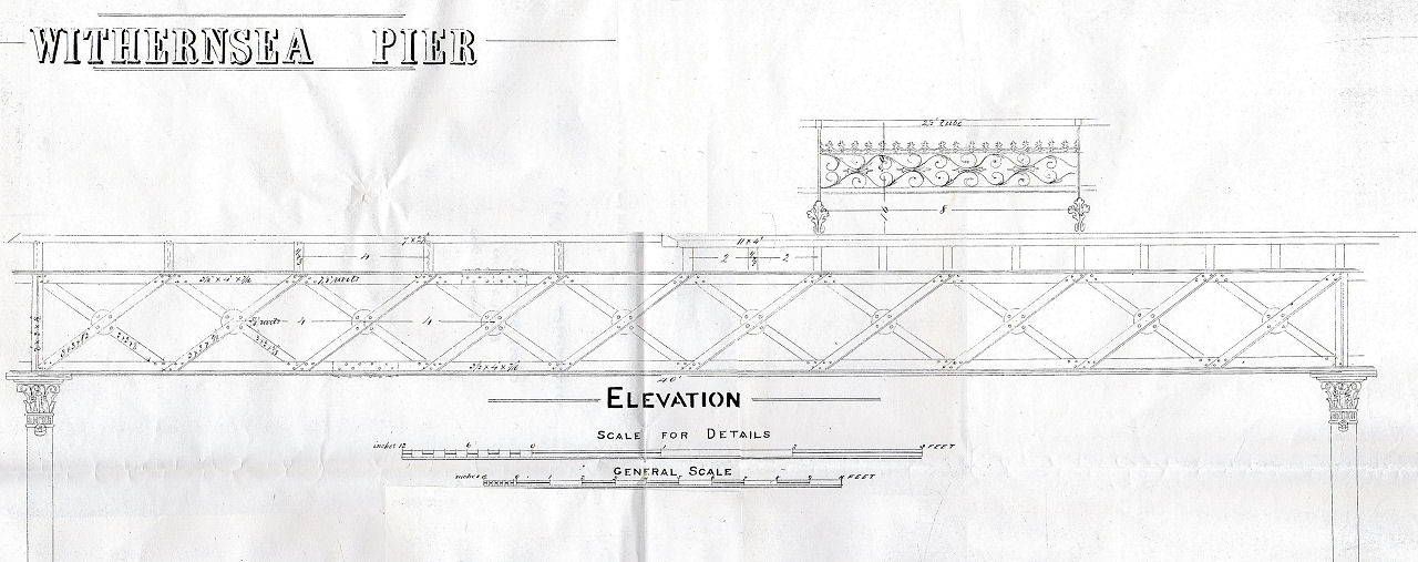 Withernsea Pier Elevation