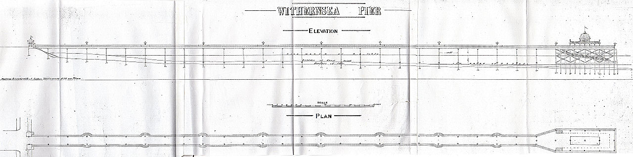 Withernsea Pier Architects Drawing