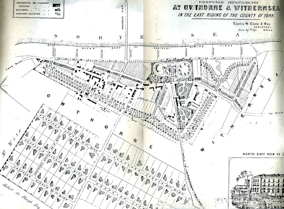 Proposed plan of Withernsea 1871
