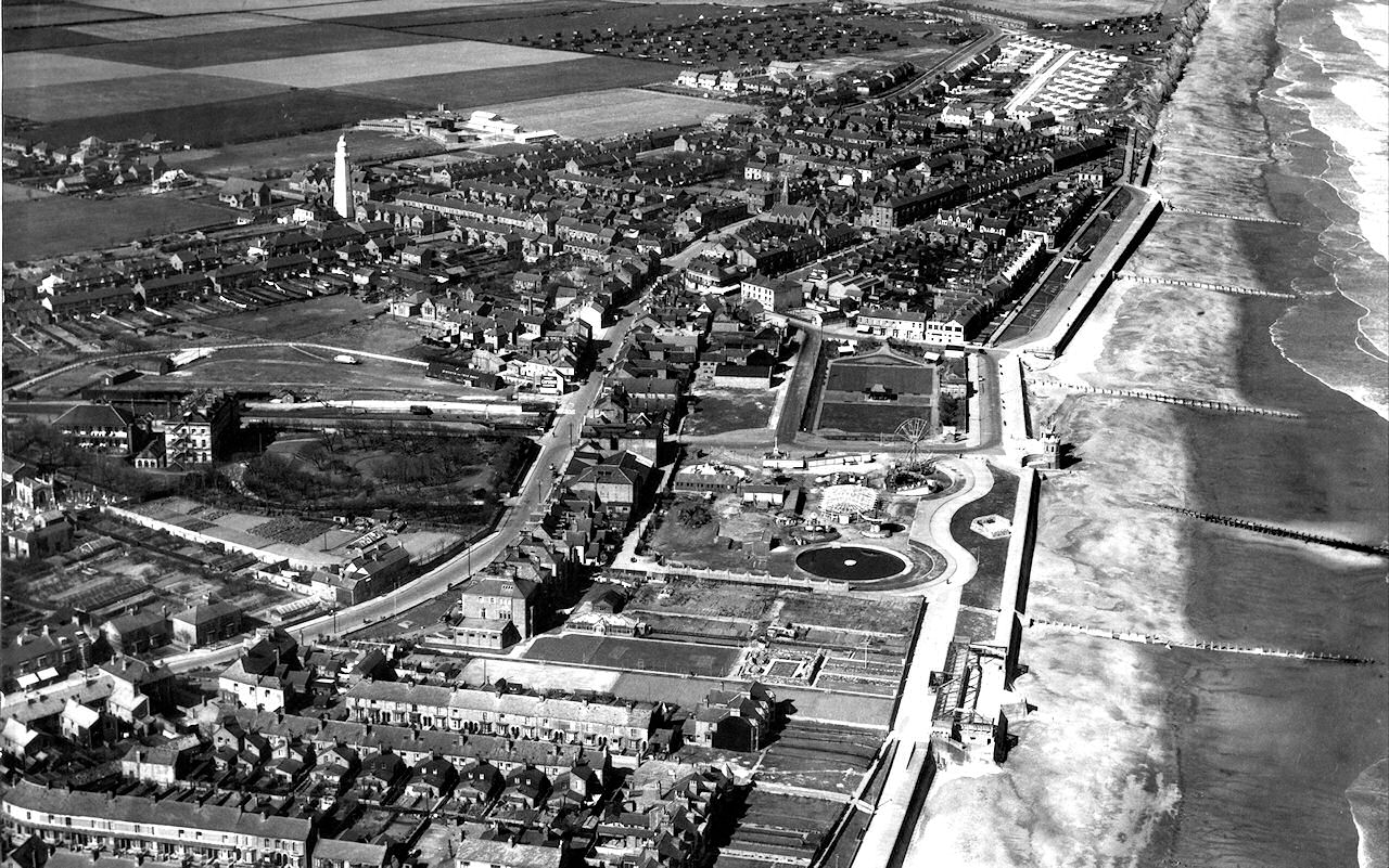 Aerial view of Withernsea