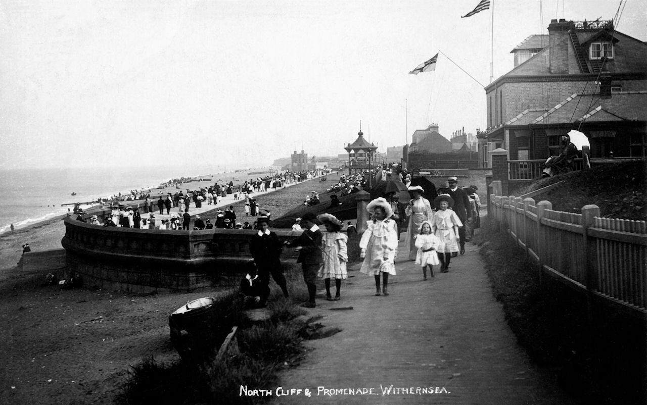 North cliff and promenade Withernsea
