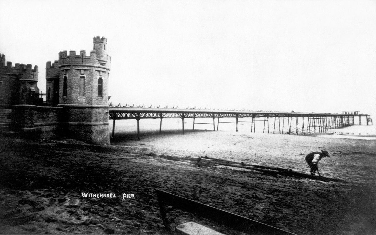 Withernsea Pier 1880