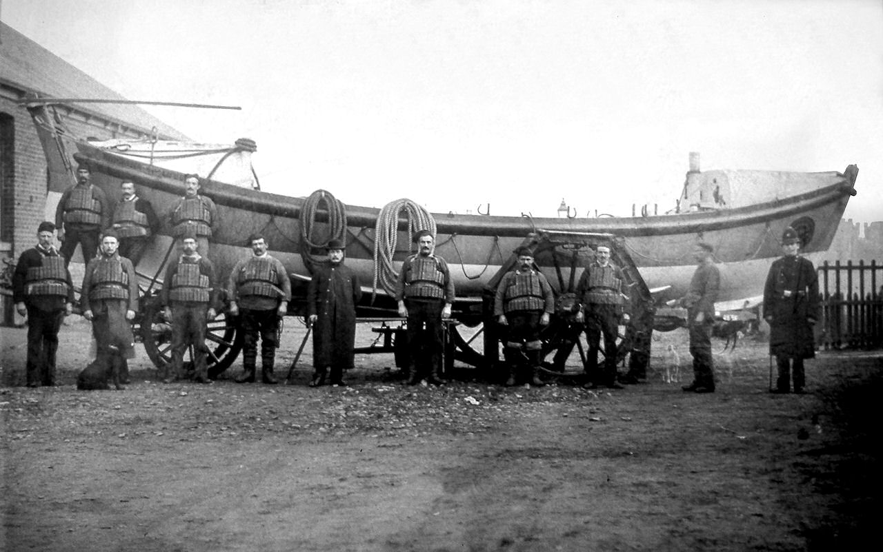Withernsea Lifeboat crew ca 1900