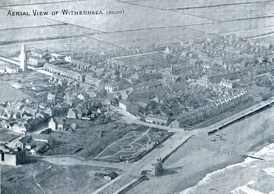 Aeriel photo of Withernsea 1909