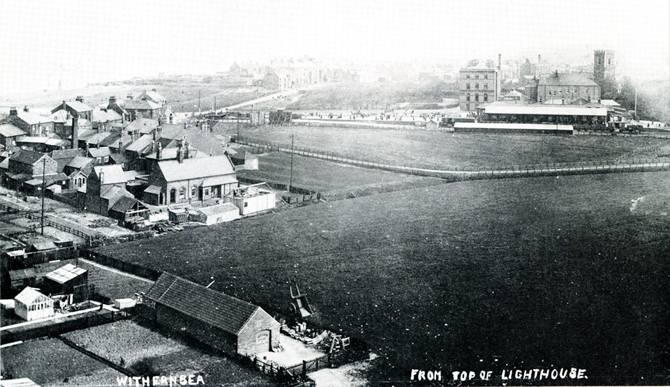 Withernsea from lighthouse 1915