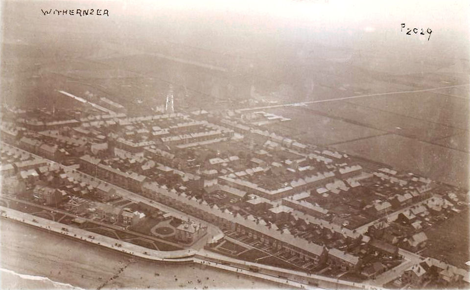Arial Photo of Withersea 1928
