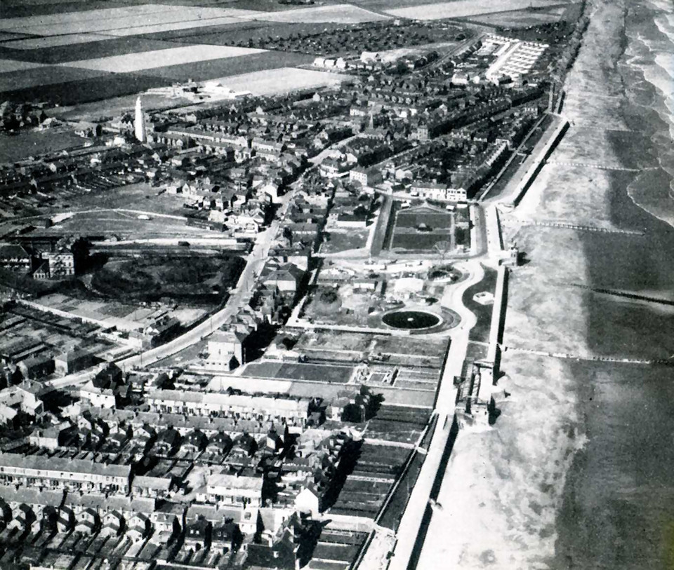 Arial Photo of Withernsea 1948
