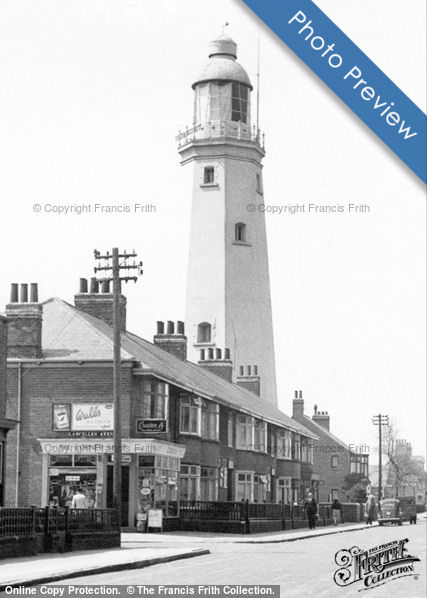 Lighthouse and Corner Shop Withernsea