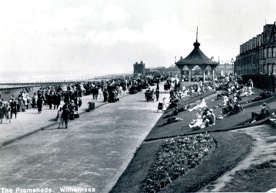 Withernsea Promenade and Bandstand