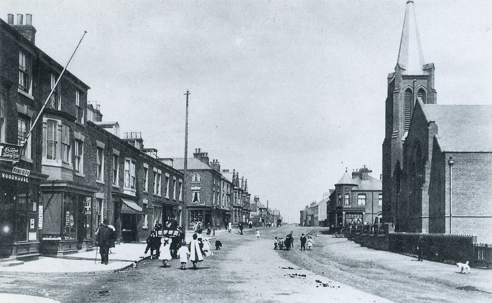 North end of Queen Street, Withernsea