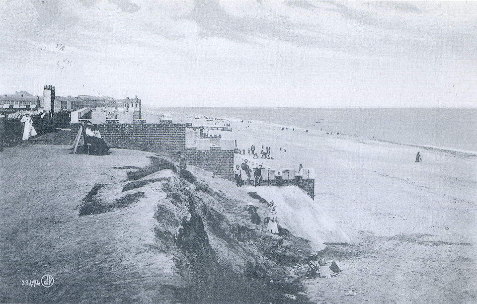 South cliff castle, Withernsea