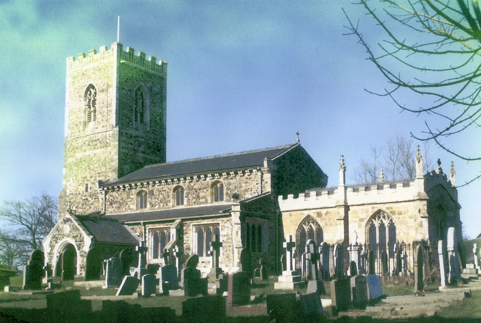 St Nicholas Church approx 1960