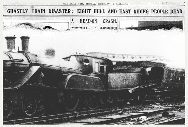 Train Crash Valentines day 1927